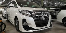 2016 TOYOTA ALPHARD SC 2.5CC / MODELISTA KITS ORI JPN / GS GRILL / SUNROOF / TIPTOP CONDITION FROM JAPAN
