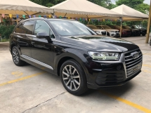 2016 AUDI Q7 3.0 TDi S-Line Quattro New Model MMi Touch Head Up Display Matrix LED Lights 7 Seat Dynamic Drive Select Multi Function Paddle Shift Steering Reverse Camera Unreg