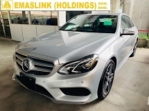 2014 MERCEDES-BENZ E-CLASS E250 AMG NEW FACELIFT JAPAN UNREGISTER SURROUND CAMERA NEGO!!!
