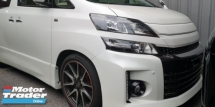 2014 TOYOTA ALPHARD Z GS SPORT / 2 PWR DOOR / TIPTOP CONDITION FROM JAPAN / ALPHINE JAPAN TV