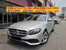 2017 MERCEDES-BENZ E-CLASS E200 W213 CKD AVANTGARDE TRUE YEAR MADE 2017 MIL 37K KM FULL SERVICE HAP SENG WARRANTY TO NOV 2021