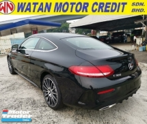 2017 MERCEDES-BENZ C-CLASS 300 COUPE AMG LINE UNREGISTER 1 YEAR WARRANTY