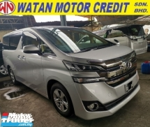 2015 TOYOTA VELLFIRE 2.5 X 8 SEATER UNREGISTER 1 YEAR WARRANTY