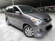 2008 TOYOTA AVANZA Toyota Avanza 1.5(A) G HIGH SPEC TIP TOP CONDITION 1 OWNER