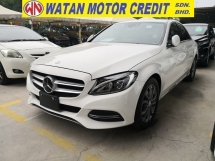 2014 MERCEDES-BENZ C-CLASS C180 1.6 AVANTGARDE KEYLESS PRE CRASH JAPAN UNREG