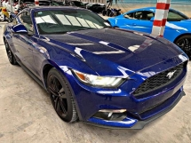 2016 FORD MUSTANG 2.3 ECOBOOST UNREG SPECIAL PROMOTION !!