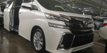 2015 TOYOTA VELLFIRE ZA 2.5CC / 7 SEATER / TIPTOP CONDITION FROM JAPAN ORI MILEAGE NO TAPPED
