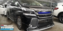 2016 TOYOTA VELLFIRE ZG 2.5 / SUNROOF / MODELISTA KITS ORIGINAL JPN / GS GRILL / TIPTOP CONDITION FROM JAPAN