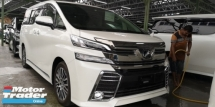 2015 TOYOTA VELLFIRE ZG 2.5 / PRE-CRASH / EXTRA BODY KITS JPN / 4 YEARS WARRANTY UNLIMITED KM