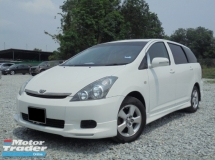 2005 TOYOTA WISH 1.8 VVT-i Sunroof ReverseCamera TipTOP Condition LikeNEW