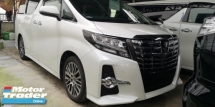 2016 TOYOTA ALPHARD SC 2.5CC / SUNROOF / ALPHINE MONITOR / TIPTOP CONDITION FROM JAPAN