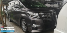 2015 TOYOTA ALPHARD SC 2.5CC / BODY LIMITED GREY / READY STOCK NO NEED WAIT