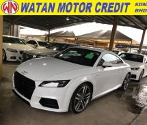 2015 AUDI TT 2.0 SLINE TFSI QUATTRO NEW ODEL 2015 UNREG LIKE NEW CAR FREE WARRANTY