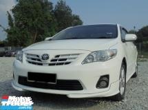 2012 TOYOTA COROLLA  Altis 1.8 Dual VVT-i TRD Facelift LikeNEW