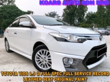 2015 TOYOTA VIOS 1.5G FULL SPEC FULL BODYKIT LEATHER SEAT FULL SVC RCD
