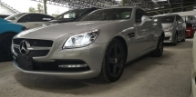 2013 MERCEDES-BENZ SLK 1.8SE / READY STOCK OFFER UNIT / TIPTOP CONDITION