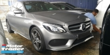 2015 MERCEDES-BENZ C-CLASS C200 2.0 AMG / TIPTOP CONDITION FROM UK / READY STOCK NO NEED WAIT / 4 YEARS WARRANTY UNLIMITED KM