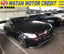 2017 MERCEDES-BENZ C-CLASS C300 COUPE AMG SPORT FULL POWER BOOTH PANORAMIC ROOF 2017 UNREG