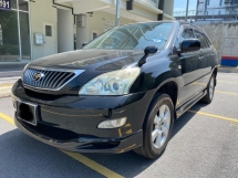 2012 TOYOTA HARRIER 2.4 ALCANTARA PANAROMIC ROOF TOP HIGH SPEC