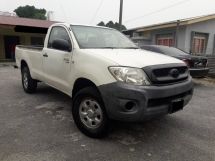 2009 TOYOTA HILUX SINGLE CAB