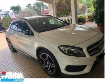 2016 MERCEDES-BENZ GLA 250 AMG LINE CBU 2016 REGISTER MAC 2017 NICE NO VIP 2818 MERCEDES BENZ MALAYSIA