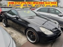 2007 MERCEDES-BENZ SLK 200K 1.8 (UK SPEC)
