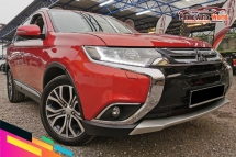 2017 MITSUBISHI OUTLANDER 2.4 4WD PWBOOT S/ROOF 7SEATER