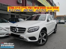 2017 MERCEDES-BENZ GLC GLC200 CKD TRUE YEAR MADE 2017 Mil 15k km only Lady owner MBM Warranty until September 2021