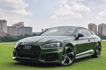 2017 AUDI RS5 3.0 Coupe Black Edition Unreg with 2 Years Extensive Warranty
