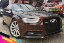 2016 AUDI A4 1.8 TFSi 8 SPEED (A) NEW F/LIFT B&O FLSPEC
