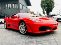 2008 FERRARI 430 4.3 V8 WITH VEHICLE IDENTIFICATION BOOK (VIP BOOK) LIKE NEW