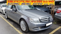 2011 MERCEDES-BENZ C-CLASS C250 CGI AVANTGARDE (A) REG 2010, CKD, ONE CAREFUL OWNER, FULL SERVICE RECORD, MILEAGE DONE 32K KM, FREE 1 YEAR GMR CAR WARRANTY, 17