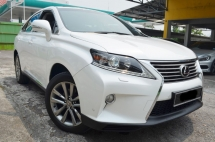 2013 LEXUS RX350 3.5 NEW FACELIFT 50K KM FULL SERVICE RECORD