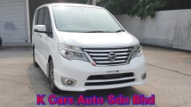 2016 NISSAN SERENA 2.0L HIGHWAY STAR Original Mileage Full Service By Nissan Tan Chong Hybrid Battery Warranty Until 2022 Worth Buy