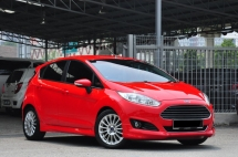2014 FORD FIESTA 1.5 SPORT Full Service Record New Car Condition