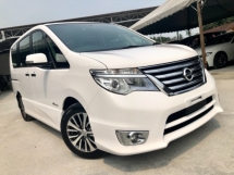 2015 NISSAN SERENA 2.0L HIGHWAY STAR (A) FULL SERVICE RECORD
