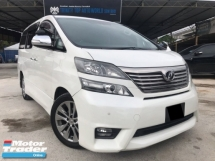 2014 TOYOTA VELLFIRE 2.4 TYPE GOLD - HIGH SPEC - 2 POWER DOOR - POWER BOOT - DARK INTERIOR - LCD PLAYER - REVERSE CAM - LIKE NEW CAR - OFFER PROMOSI