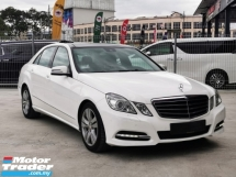 2013 MERCEDES-BENZ E-CLASS E250 CGI AVANTGARDE (7G-TRONIC maintain by MBM