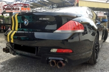 2006 BMW 6 SERIES BMW 630i 3.0 (A) RACE CHIP SROOF EXHAUST F/LOADED
