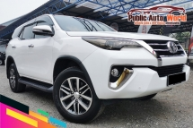 2017 TOYOTA FORTUNER Toyota FORTUNER 2.7 SRZ 4WD P/BOOT L/MILE WARRANTY