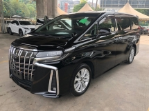 2018 TOYOTA ALPHARD 2.5 S New Facelift 360 Surround Camera 7 Seat 2 Power Doors Power Boot Sun Roof Moon Roof Pre-Crash Lane Departure Assist Road Sign Assist Parking Support Brake System Intelligent LED 9 Air Bags Unreg