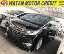 2016 TOYOTA ALPHARD 2.5 SA SUNROOF 4 CAMERA POWER BOOTH LEATHER SEAT 2016 UNREG