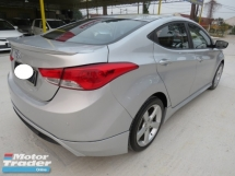2015 HYUNDAI ELANTRA 1.8GLS (A) One Lady Owner Service On Time 100% Accident Free Full Bodykit Leather Seat Push Start Sunroof Power Seat High Loan Tip Top Condition Must View
