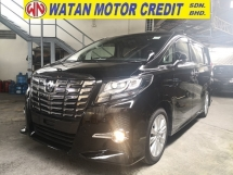 2016 TOYOTA ALPHARD 2.5 SA 360 CAM SUNROOF POWER BOOT JAPAN UNREG