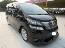 2012 TOYOTA VELLFIRE 2.4 (A) Z PLATINUM SELECTION II One Owner Full Service Record Full Bodykit Leather Seat 2 Power Door Power Boot 100% Accident Free High Loan Tip Top Condition Must View