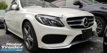 2014 MERCEDES-BENZ C-CLASS C200 AMG 2.0 / TIPTOP CONDITION FROM JAPAN / 4 YEARS WARRANTY UNLIMITED KM / READY STOCK NO NEED WAI