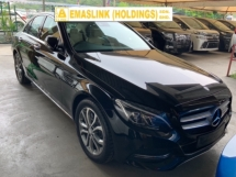 2015 MERCEDES-BENZ C-CLASS C200 Avantgarde Sport Premium panoramic roof power boot keyless memory seat japan unregistered
