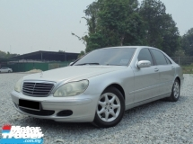 2004 MERCEDES-BENZ S-CLASS  S350L 3.7 V6 W220 VacuumDoor TipTOP Condition LikeNEW