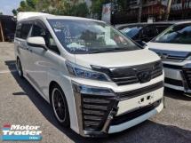 2018 TOYOTA VELLFIRE Toyota Vellfire 2.5 Z with pre crash