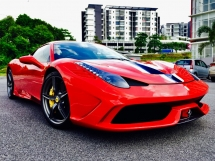 2014 FERRARI 458 SPECIALE 4.5 V8 WELL MAINTAINED